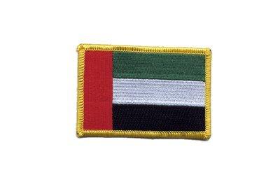 Aufnäher Patch Flagge Vereinigte Arabische Emirate - 8 x 6 cm