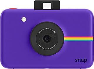 Polaroid Snap - Cámara digital instantánea, tecnología de impresión Zink Zero Ink, 10 Mp, micro SD, fotos de 5 x 7.6 cm, Púrpura (B01CGVSFT8) | Amazon Products