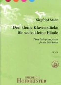 Drei kleine Klavierstücke für sechs Hände: Klavier