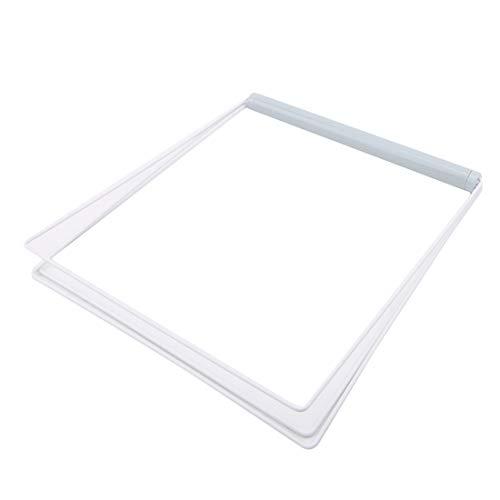 VWH Folding Handtuchständer Rack 3 Schichten Küche Waschen Tuch Handtuch Trocken Organizer Halter(Blau) (Trockene Tücher Rack)