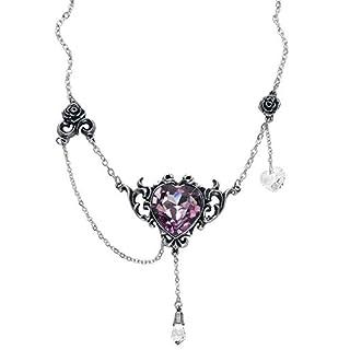 Alchemy Gothic Countess Kamila Necklace Silver-Coloured