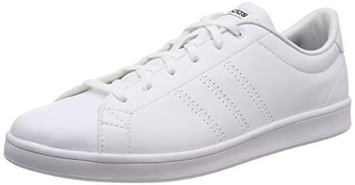 adidas Damen Advantage Clean Qt Fitnessschuhe, Weiß (Ftwbla/Negbás 000), 39 1/3 EU (6 UK) (Adidas Turnschuhe Weiß Damen)