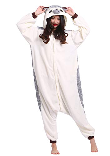 Unisex Kigurumi Jumpsuit Tier Pyjamas Kostüm Fasching Onesie Damen Herren Karneval Cosplay Nachtwäsche, ()