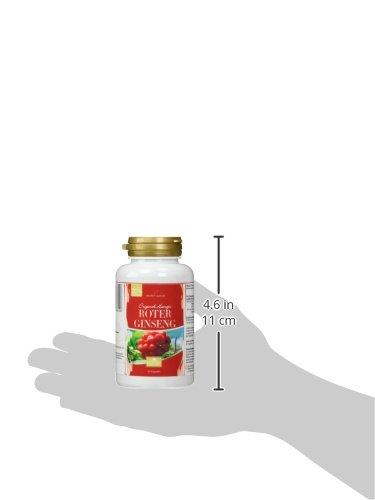 Hanoju Roter Ginseng 550 mg 90 vegetarische Kapseln, 1er Pack (1 x 50 g)