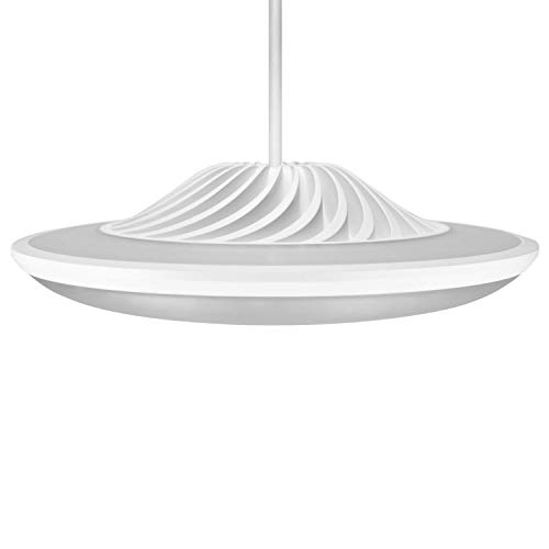 Luke Roberts 'Model F' - Smart LED Pendant Lamp with App Control, Bluetooth, indirect Light, 16 Mio. RGBWW Colors, Amazon Alexa Skill; perfect for any Smart Home