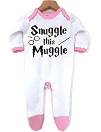 Snuggle this Muggle  Baby Boy Girl Made in England 100% cotton Vests  Babygrow ·   6532ab873