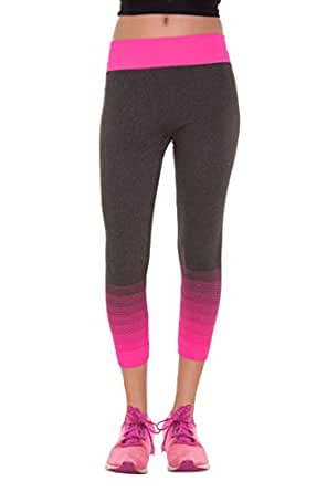 Looks Lane Shaded Grey Sports Wear Bottoms or Capris Stretchable Free Size