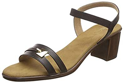 Inc.5 Women's Black Fashion Sandals-7 UK/India (40 EU) (9 US) (14435BLACK)