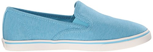 Lauren Ralph Lauren Janis Fashion Sneaker Turquoise Jersey Knit