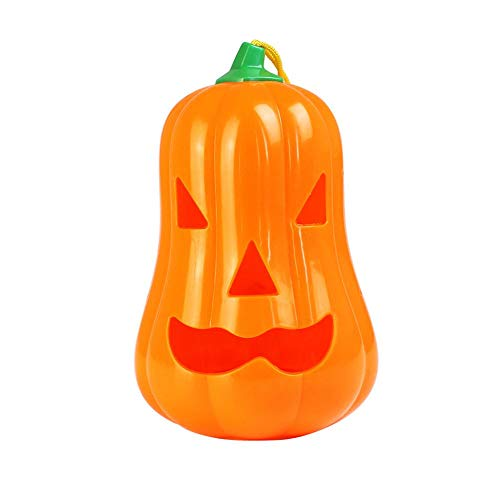 Matefielduk Kunststoff 1PC Kürbis Scary Ghost Soundspielzeug mit Lampe Holloween Spielzeug Broma
