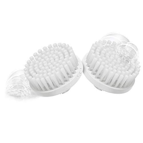 Braun 80 Face - Set de 2 recambios de cepillo facial de limpieza para depiladora facial, color blanco...