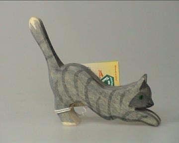 Katze springend NEU -