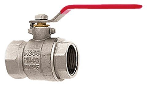 Siena Garden 571402/63093 Ball Valve filetage interne 2,5 cm nickelé