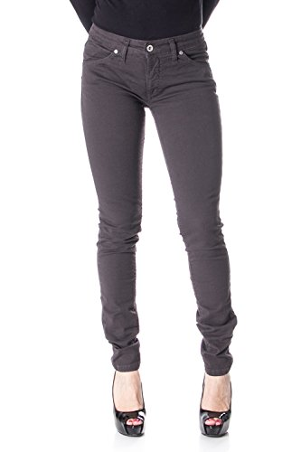 Please Damen Jeans Slim DEHNEN P95 XS braun