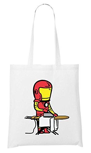 Iron Man Bag White Certified Freak