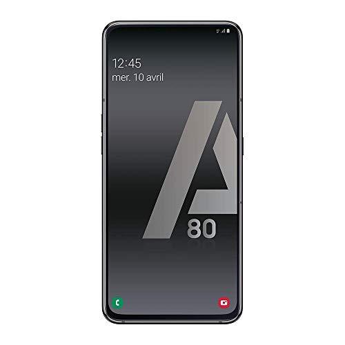 Samsung Galaxy A80 - Smartphone 4G (6,7'' - 128GO - 8GO RAM) - NOIR - Version Française