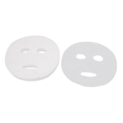 sourcingmap ® 100 Stück Gesichtspflege DIY Gesichtsmaske Maske Kosmetikmaske Weiß für Damen de