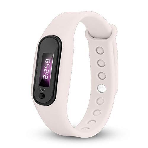 Uhren Damen Armbanduhr Run Step Watch Armband Schrittzähler Kalorienzähler Digital LED Gehabstand Uhr Sport-Armband,YpingLonk