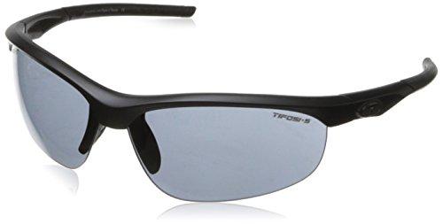 Tifosi Optics Tifosi Z87.1 Veloce Matte Black Tactical Sunglasses - Smoke
