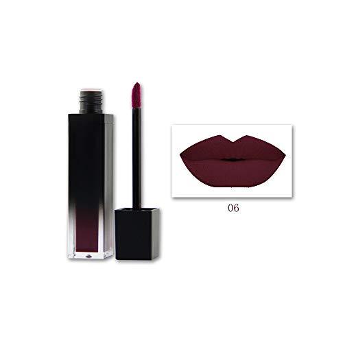 Lipgloss,Rabatt,PorLous 2019 Beliebt 1 STÜCK Shiny Matte Lippenstift Wasserdichte Pigment Brown Nude Long Lasting Lipstick Feuchtigkeitsspendend 6