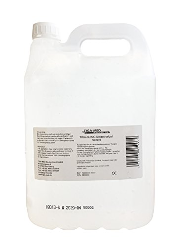 Ultraschallgel 5 ltr Cubitainer 1x Kontaktgel Sono- Ultraschall- Gel 5000ml Leitgel Tens AB Gym Gleitgel Tiga-Med