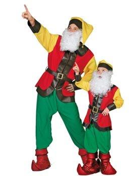 Wilbers Federbein Goblin Kinder Kostüm -