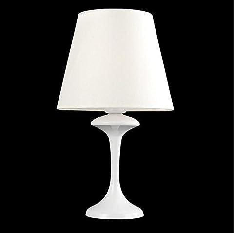 WEIMEI Lampe de table sauver base de résine et d'un bureau de tissu lampe crème chambre couvercle de lecture de l'énergie