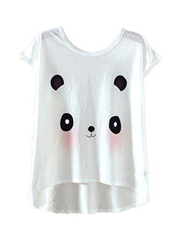 YICHUN Damen T-Shirt Joli 6#
