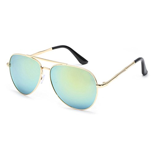 Lilicat Sonnenbrille Mode Sunglasses Vintage Wayfarer Unisex Sommer Auto Treiber Brille Anti-Reflexion Nachtsicht Brille UV400 Outdoor Polarisierte für Männer Frauen (One Size, E)