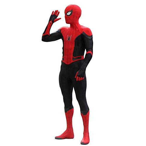 Spider Iron Kostüm - ASJUNQ Kinder Spiderman Kostüm Halloween Superheld Geburtstag Body Weihnachten Cosplay Kostüme Kostüm Cosplay,Child-M