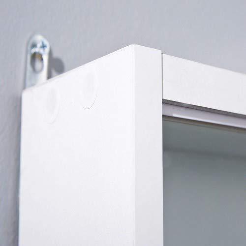 31C8FpOEyNL - Easy Home  Simply A20 -  Vitrina de  madera MDF y vidrio, Blanco