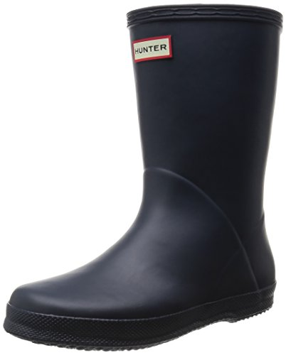 Hunters Kid's First W24133 Unisex-Kinder Gummistiefel Dark Navy