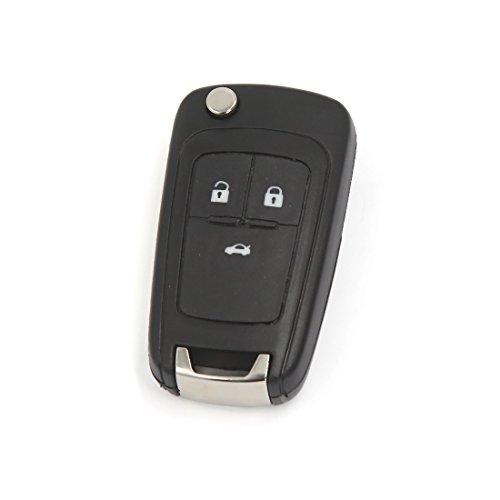 Preisvergleich Produktbild sourcingmap® 3 Knopf Fob Fernschlüssel Fall Shell Fit Vauxhall Astra Insignien Zafira Holden