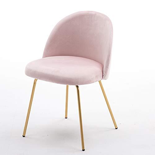Sedia Oro Ferro Art Makeup Chair Camera da Letto Schienale Sgabello Casa  Multifunzione Spogliatoio Stile Europeo Protezione Ambientale Sedia da  Pranzo ...