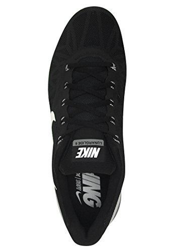 Nike - Lunarglide 6, Scarpe da corsa da uomo Schwarz (Black/White-Pro Platinium-Cool Grey)