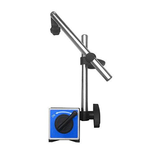 prettygood7 Ständer Halter Zifferblatt Indikator Basis Universal große Saugnapf magnetische Digitale Anzeige Anzeige Digitalsonde Anzeige Zifferblatt Testmessgerät - Mitutoyo Dial Test Indicator