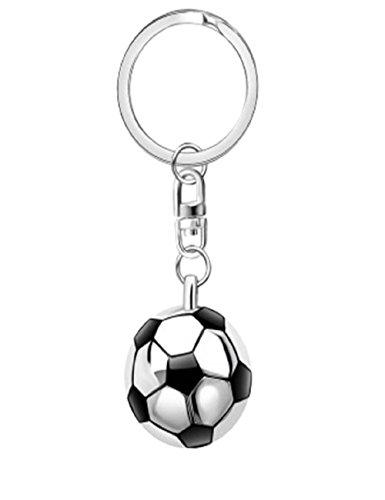 Sportigo® Fußball Schlüsselanhänger mit Ball/Sport Geschenk