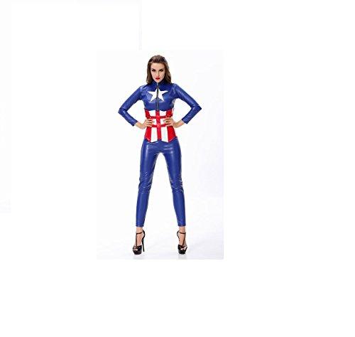 America Captain Character Design (Kostüme Damen Captain America)