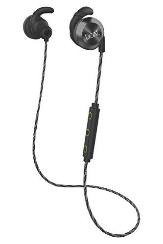 Boat Rockerz 230 In-Ear Bluetooth Headphone With Mic (Silver/Black)