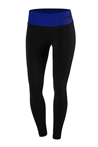 FITTECH PERFORMANCE Damen Thermoaktiv Legging Leggins Strumpfhose Tights Laufhose Sporthose Lang Fitness Pilates Outdoor Radsport Running - 7