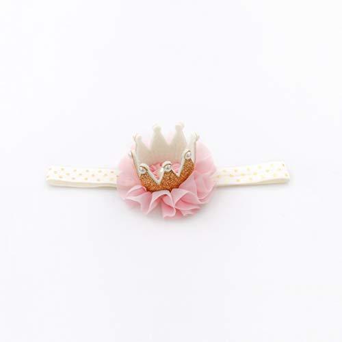 Li si Neugeborenes Baby-Baby-Kind-Haar-Blumen-Kopfschmuck 0-3 Jahre alt (Farbe : C)