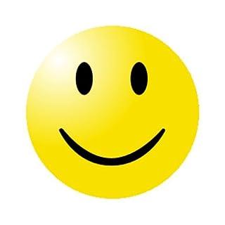 Shirtzshop Smiley GELB Aufkleber Autoaufkleber Sticker Vinylaufkleber Decal