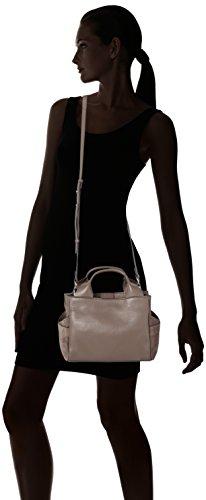 Clarks - Talara Wish, Henkeltasche Donna Grigio (Taupe Leather)