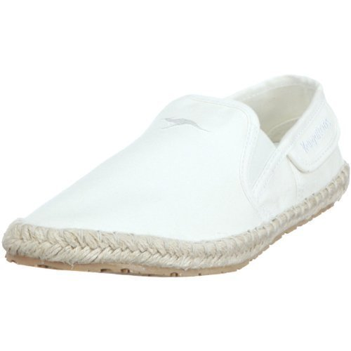 KangaROOS Slipper, Baskets pour femme White - Weiss (offwht)