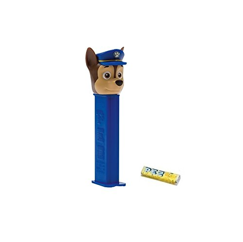 Figurine PEZ Pat Patrouille + 1 recharge bonbon bonbons - Chase - 465