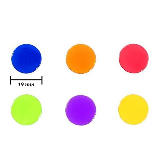 Keriber-204-Stcke-Bingo-Chips-Transparent-Farbe-Zhler-Zhlen-Kunststoff-Marker-mit-Aufbewahrungstasche