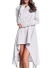 Mujer Sudadera Camiseta Tops Vestido Manga Larga Moda Fashion de Urbano Otoño,Sonnena Suéter de