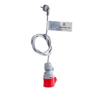 Adapter Schuko für Proteus-NRGkick Ladekabel für Elektroauto Proteus-Proteus-NRGkick 16 und NRGkick 16 light, Notladekabel 230 Volt Schuko, 230 Volt CEE