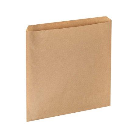 Sacs Papier sacs à sandwich/compteur sachets de 10 x 10 cm-sacs en kraft Marron compteur alimentaire Sachets-Lot de 1000