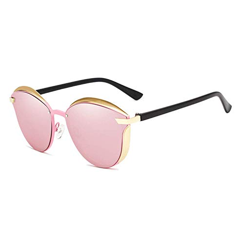 WERERT Sportbrille Sonnenbrillen Designer Cat Eye Sunglasses Women Polarized Luxury Alloy Frame+Tr90 Sun Glasses Fashion Retro